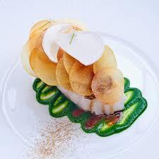 recette de cuisine de chef étoilé cabillaud de noirmoutier et condiment ciboulail recette