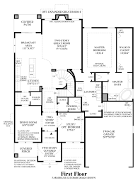 Traditional Floor Plans The Hills At Parker The Aspen Home Design