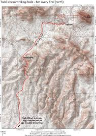 Phoenix Mountain Preserve Map by Eagletail Mountains Wilderness