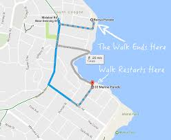 Daylight Savings Map The Coogee To Maroubra Coast Walk Sydney U0027s Eastern Beaches