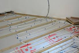 can you put radiant heat under laminate flooring can you install engineered hardwood over underfloor heating