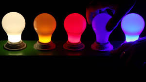 colored led light bulbs at 1000bulbs