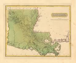 Louisiana Territory Map by Antique Maps Of Louisiana