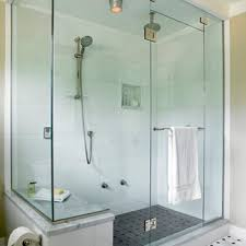 Bathroom Door Hinge Towel Rack Frameless Shower Door Enclosure Miami Custom Shower Doors Miami