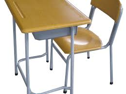 single kids study table chair desk and chair