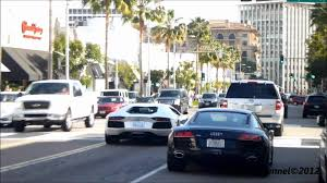 Lamborghini Aventador On Road - lamborghini aventador lp700 4 small acceleration vs audi r8 on the