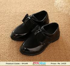wedding shoes online india fashionable black designer shoes for baby with bows