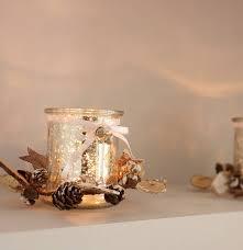 pine cone tea light holder mercury glass tea light holder by ella james notonthehighstreet com