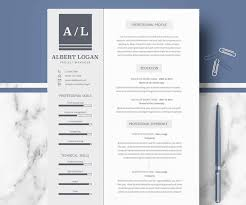 Template For A Resume Microsoft Word 50 Best Resume Templates For Word That Look Like Photoshop Designs