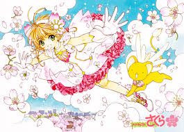 Cherry Blossom Map Cardcaptor Sakura The Flying Cherry Blossom Third And Final Scan
