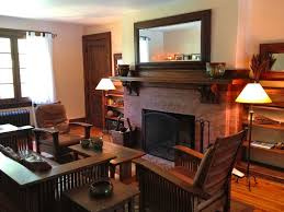 Arts And Crafts Living Room by South Of The Highway In Georgica East Homeaway Village Of