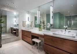 Transitional Vanity Lighting Bathroom Bathroom Built In Transitional With Vanity Mirror And