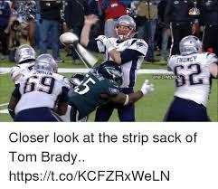 Meme Strip - thuney 69 n memes closer look at the strip sack of tom brady