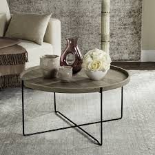 Grey Accent Table Fox4254a Accent Tables Furniture By Safavieh
