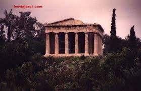 imagenes de antigua atenas templo de teseo agora antigua atenas grecia templo de teseo