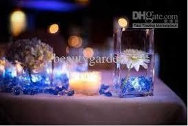 blue tea light candles 2018 blue tea light submersible led candle lights wedding decoration
