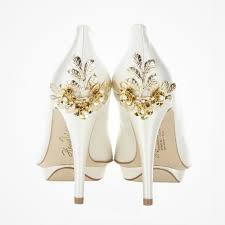 wedding shoes embellished floral embellished wedding shoes bridgette gold harriet wilde
