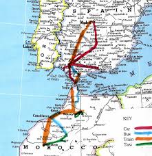 San Sebastian Spain Map by Map Of Spain And Morocco Imsa Kolese
