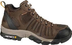 Light Work Boots Mens Carhartt Cmh4370 Lightweight Mid Hiker Safety Toe Free