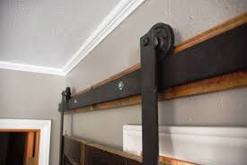 interior barn door track system pictures on exotic home interior