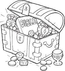 coloring book bible stories bible treasure chest coloring page sunday or children