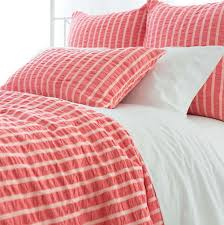 grey and coral duvet cover home design ideas
