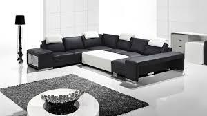 canap cuir noir et blanc photos canapé noir et blanc cuir