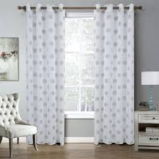 Silver Window Curtains Bay Window Curtains In The Living Room Beautiful