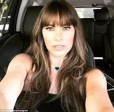 hair styles for women who are 45 years old new year new cut sofia vergara celebrates turning 45 with bangs