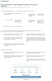 dialogue worksheet free worksheets library download and print