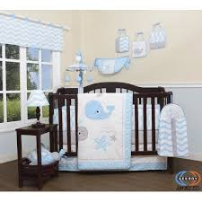 Whale Crib Bedding Geenny Baby Lovely Whale 13 Nursery Crib Bedding Set