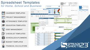 free budget spreadsheets and budget planners for excel