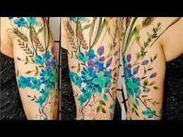 my floral half sleeve tattoo experience at trinity tattoo