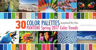 spring color trends 2017 30 color palettes inspired by the pantone spring 2017 color trends