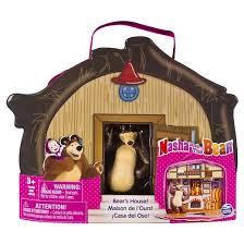 masha bear bear u0027s house vinyl bag target