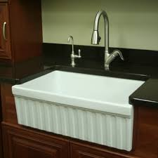 Whitehaus Collection FarmhausQuatro  X  X  Single Bowl - Farmhouse kitchen sink