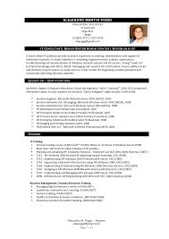 sle consultant resume it consultant resume format security sle independent exles
