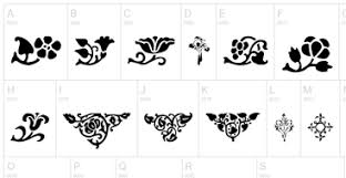 25 resources for ornaments fleurons and frilly bits