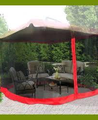 Mosquito Netting For Patio Umbrella Idea Patio Umbrellas Of Patio Canopy With Mosquito Netting