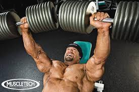 Phil Heath Bench Press Branch Warren U0027s Muscletech Chest Workout
