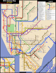 Manhattan Map Subway by System 1987 Gif
