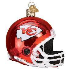 city chiefs helmet 71617 world ornament