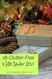 18 clutter free gifts under 20 nourishing minimalism