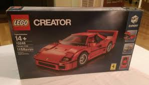 lego ferrari enzo lego creator expert ferrari f40 10248 bags album on imgur