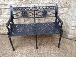Wrought Iron Benches For Sale Wrought Iron Patio Benches Foter