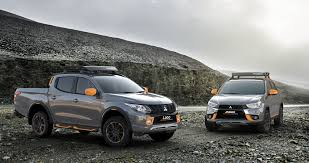 mitsubishi attrage bodykit geneva show mitsubishi tricks out triton and asx goauto