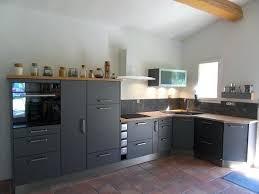 cuisine gris bois meuble cuisine gris anthracite stunning cuisine gris et