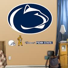 penn state nittany lions logo wall decals fathead penn state nittany lions logo wall decals