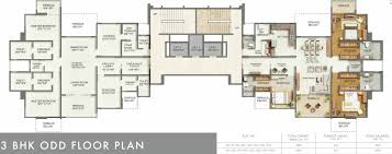 Nottingham Arena Floor Plan by Kumar Privie Sanctum By Kumar Company In Baner Pune Price