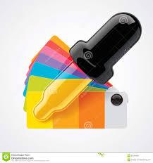 vector color picker icon royalty free stock photos image 25224908